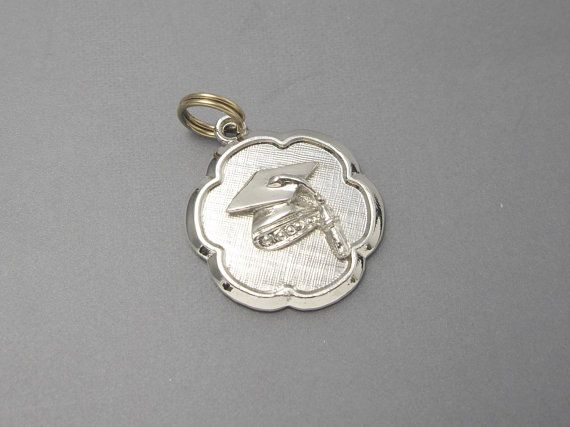 Graduation Charms Sterling Silver