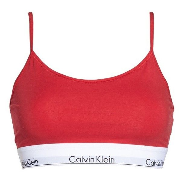 c56906814f Women s Calvin Klein Modern Cotton Bralette ( 17) ❤ liked on Polyvore  featuring intimates
