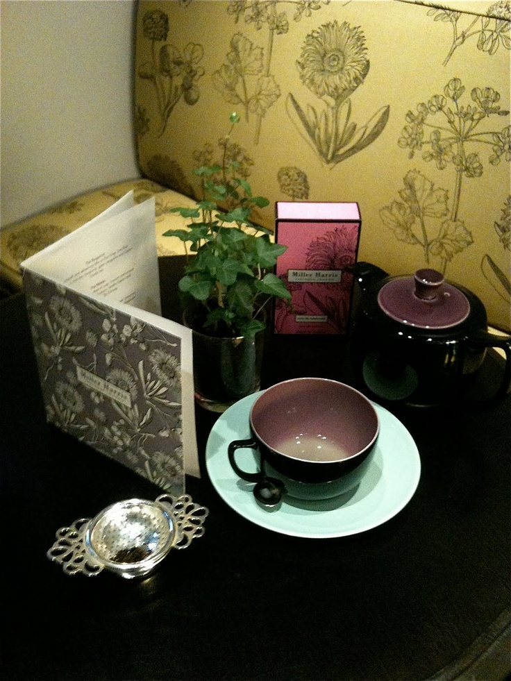 Beauty Bible Blog: Time for (a Miller Harris) tea