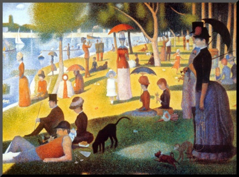 Suerat--Saturday Afternoon on the Island of la Grande Jatte