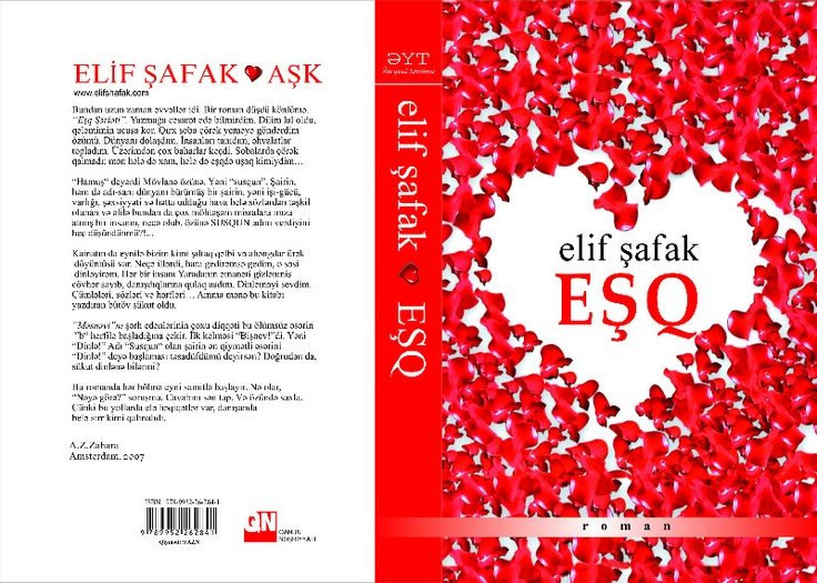 AŞK, Azerbeycan'da ESQ olarak çıkıyor, güzel heyecan. The Forty Rules of Love is being published as ESQ in Azerbaijan.