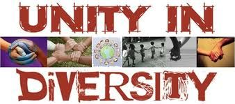 Do you know there unity in diversity?