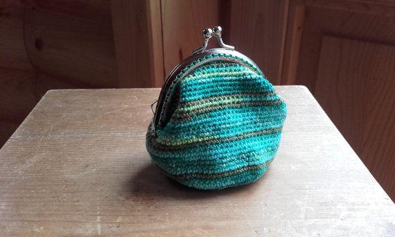 Capri Crochet Purse by BessFlowerPots on Etsy