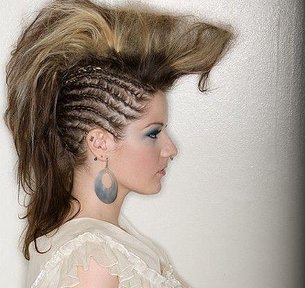 Mohawk Hairstyles For Women 23 faux hawk hairstyles for women Braided Mohawk Hairstyles Easy Hairstyles For Girls