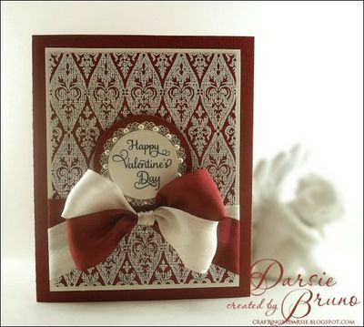 Just Rite Stampers #Card #Valentine's Day