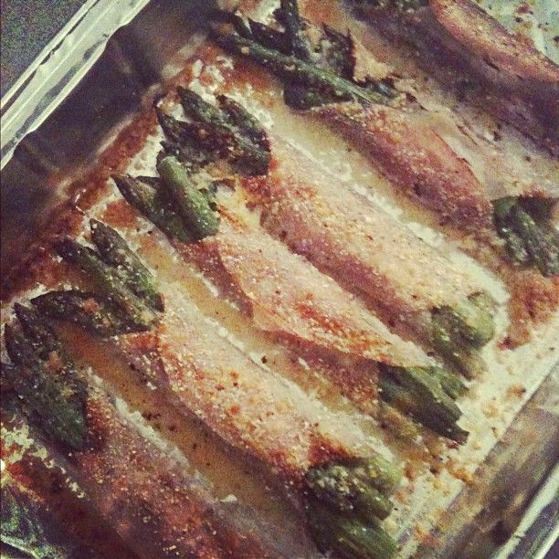 Asparagus gratin with skinny ham and Parmigiano Reggiano. #healthyfood ...