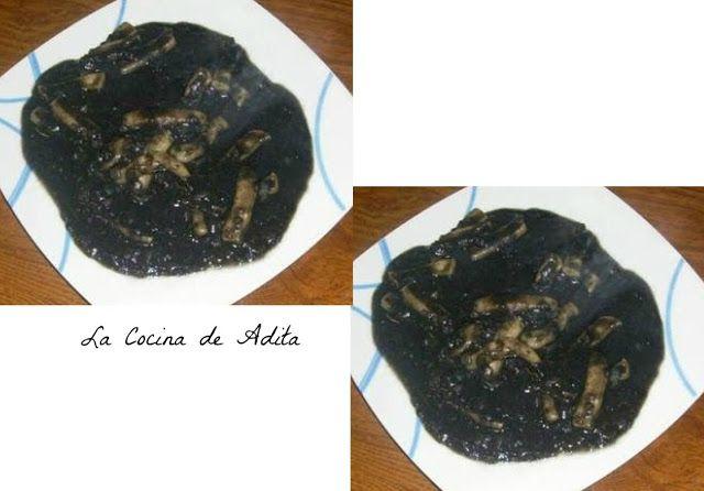 Calamares en su tinta - La Cocina de Adita