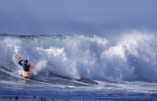 How to Go Ocean Kayak Surfing - Tips and Steps