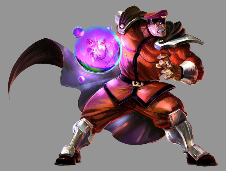 Marvel VS Capcom 2: M Bison by UdonCrew on DeviantArt