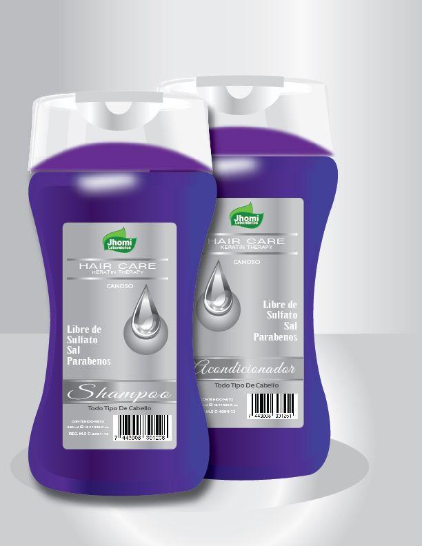 El Shampoo y Acondicionador Canoso Hair Care libre de sulfato están indicados para cabellos dañados, debilitados por la decoloración de químicos o maltratados y peinados con calor; dando al cabello hidratación y docilidad .