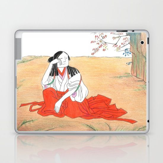 Self-portrait as a Chinese Laptop & iPad Skin