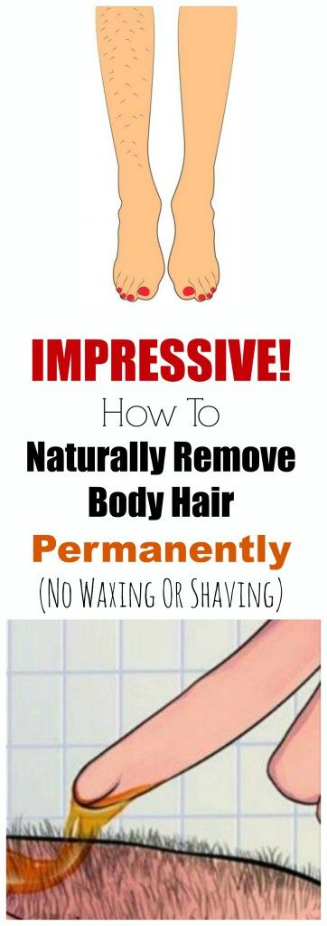 IMPRESSIVE! How To Naturally Remove Body Hair Permanently ( No Waxing Or Shaving )