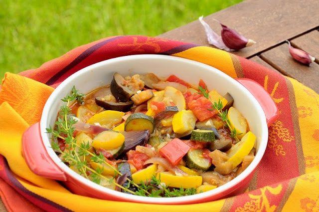 Bazylia czy Wanilia: Ratatouille, czyli prowansalskie warzywne danie jednogarnkowe