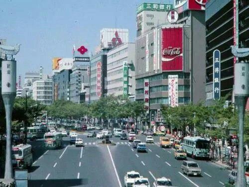 仙台駅前 青葉通り(1976)
