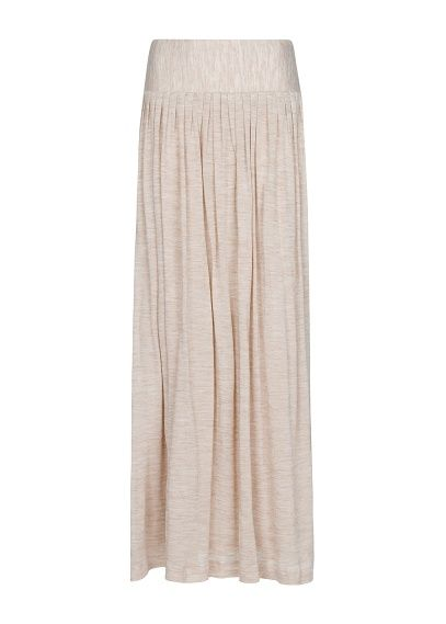 MANGO - Długa spódnica z dzianiny