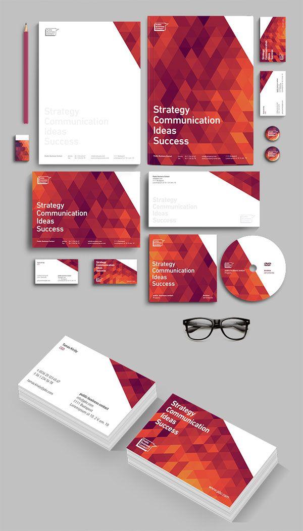 PBC Corporate Identity Design by Attila Horvath / Darkoo™