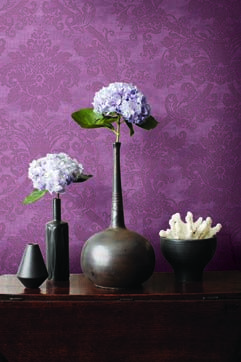 Jaima Brown integrating the 2014 color of the year into her newest designs.