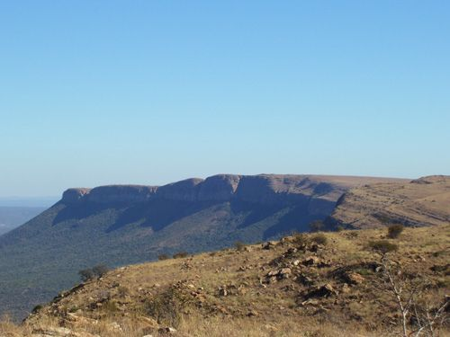 Magaliesberg mountain range