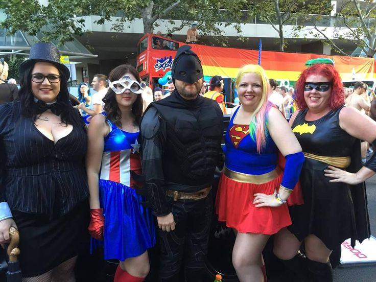 Superheroes and Villains united!