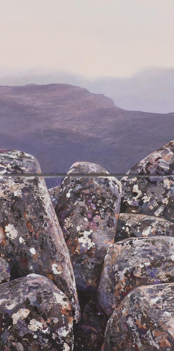 Exposure I by Adrian Barber - painter - Tasmanian artist
