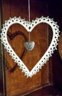 Heklet hjerte /crochet heart
