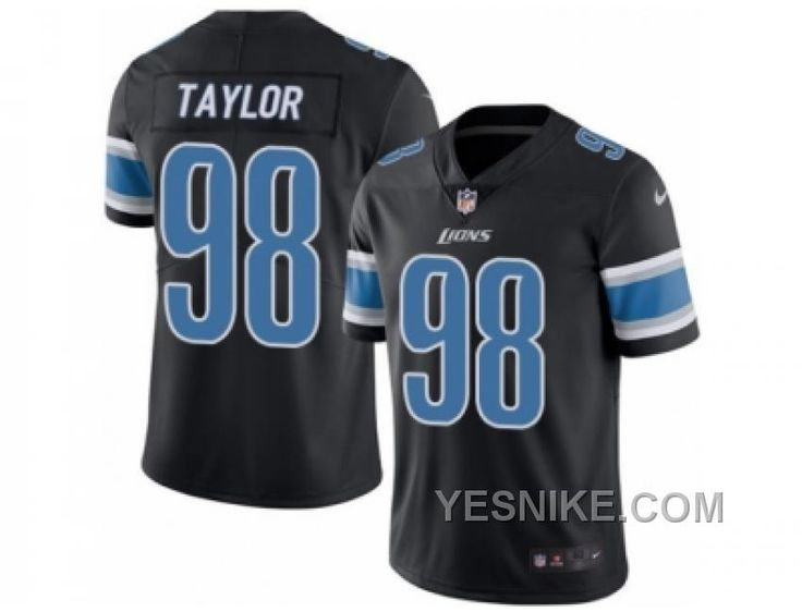 http://www.yesnike.com/big-discount-66-off-mens-nike-detroit-lions-98-devin-taylor-elite-black-rush-nfl-jersey.html BIG DISCOUNT ! 66% OFF ! MEN'S NIKE DETROIT LIONS #98 DEVIN TAYLOR ELITE BLACK RUSH NFL JERSEY Only $26.00 , Free Shipping!