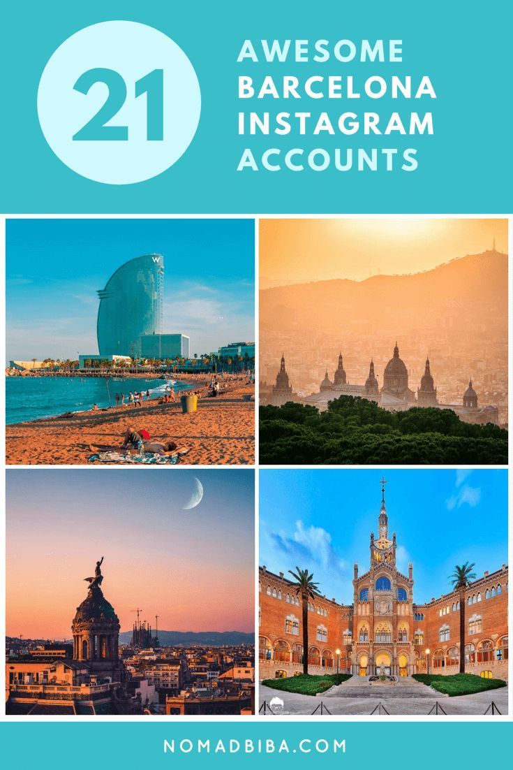 Best Barcelona Instagram Accounts to Follow | Barcelona Travel Inspiration | Where to Go in Barcelona | Most Instagrammable Spots in Barcelona | Best Photography Spots in Barcelona | Instagram Accounts to Follow | Barcelona Travel Tips
