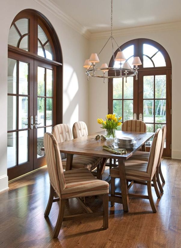 French Doors In Dining Room Unique Design Decoration
