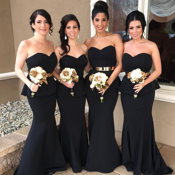 Best 25+ Black bridesmaid dresses ideas on Pinterest ...