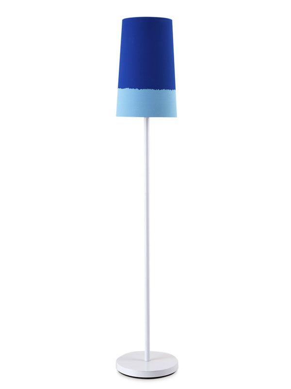 22 Audacious Shades of Blue Floor Lamp | Home Design Lover