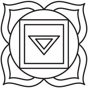 Chakra Symbols - Root design (UTH5065) from UrbanThreads.com