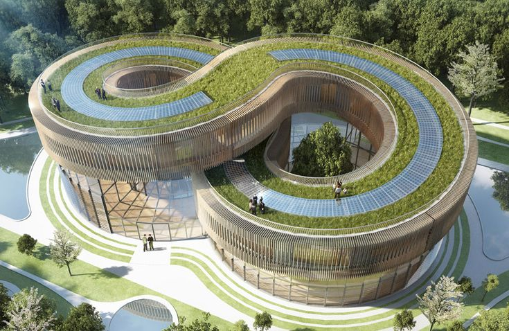 vincent callebaut architecture has designed 45 energy efficient villas in kunming, southwest china, as part of a pioneering scheme encouraging  eco-responsible lifestyles.