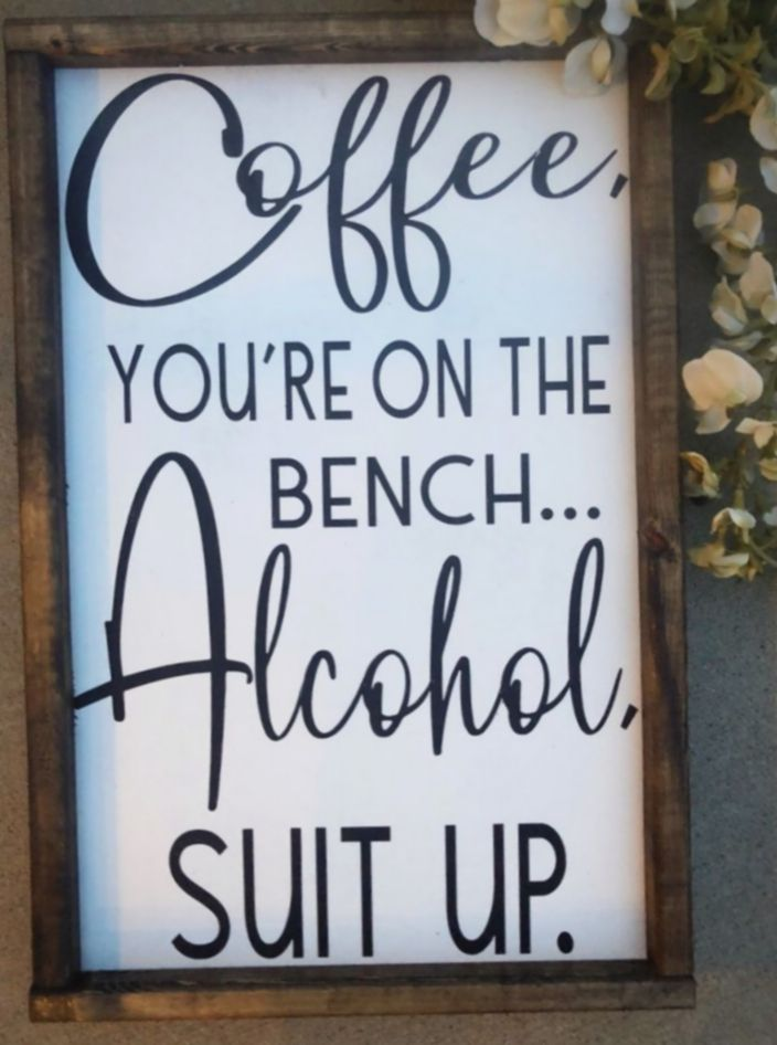 17+ Funny Signs For Home Humor   Home decor signs, Rustic ...