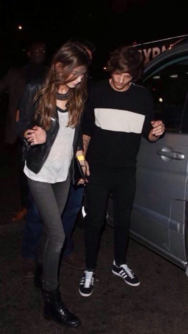 Eleanor and Louis leaving Niall's birthday party last night 09/06/2014