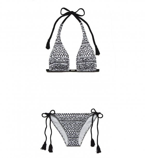 Un bikini IKKS, tendance maillot de bain printemps été 2014