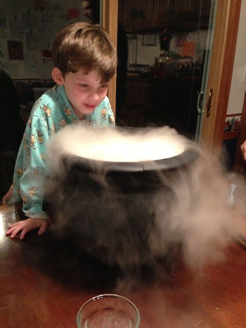 Create With Kids: Best Halloween Party Idea Ever! (= Fun and safe Witch's Brew for your kid's classroom (or home) party.