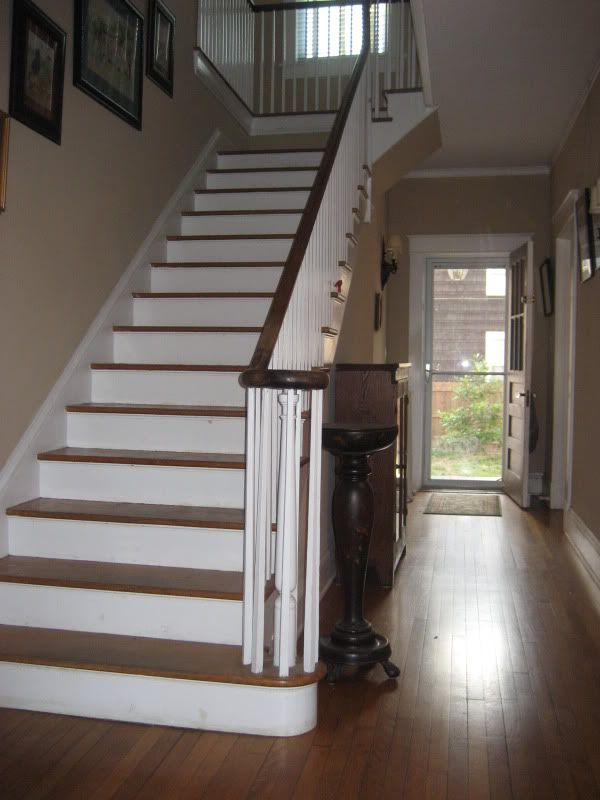 Foyer Staircase Kits : Images about colonial foyer entryway and hallways