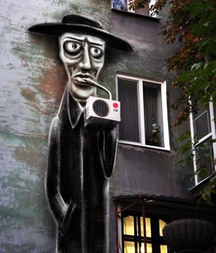 Arte de rua.: Funny Design, Street Food, Art Rules, Urban Art, Urbanart, Concept Art, Street Art, Painting, Streetart