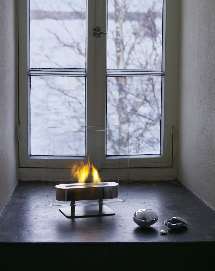 Fireplace bu Iittala, pure flame, pure style.
