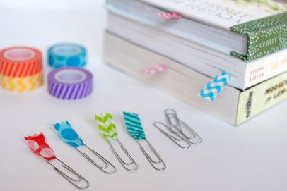 Paperclip style bookmarks by Designer Jen Perks