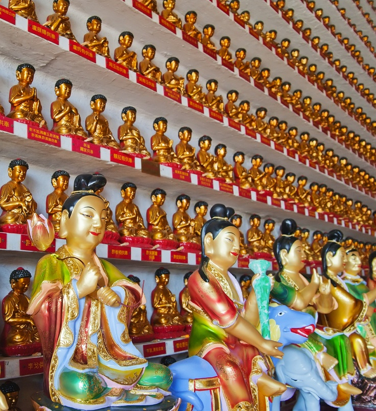 Ten Thousand Buddhas Monastery: Hong Kong