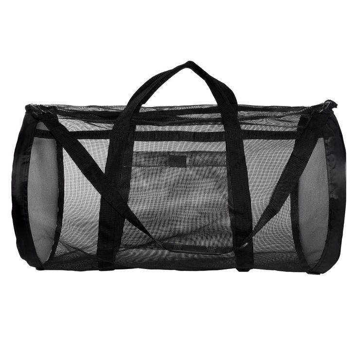 Amazon.com : Dive Bag - Heavy Duty Mesh Duffel Bag, Features Storage Pouch for Diving, Scuba, Snorkel, Swim, Surf, Sports & More : Sports & Outdoors | @giftryapp