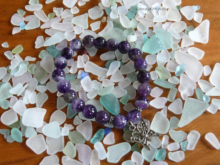 Amatista #jewelry #handmade #gemstones #joyeria #hechoamano #artesania #piedras
