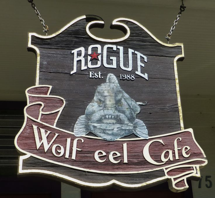 The Wolf Eel Cafe in Newport, Oregon.  Photography by David E. Nelson, 2017