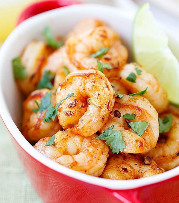 Tequila Lime Shrimp | 10 Succulent Mexican Shrimp Recipes | These Are Easy, Classic, Delicious And So Perfect For Dinner by Homemade Recipes at http://homemaderecipes.com/10-mexican-shrimp-recipes/