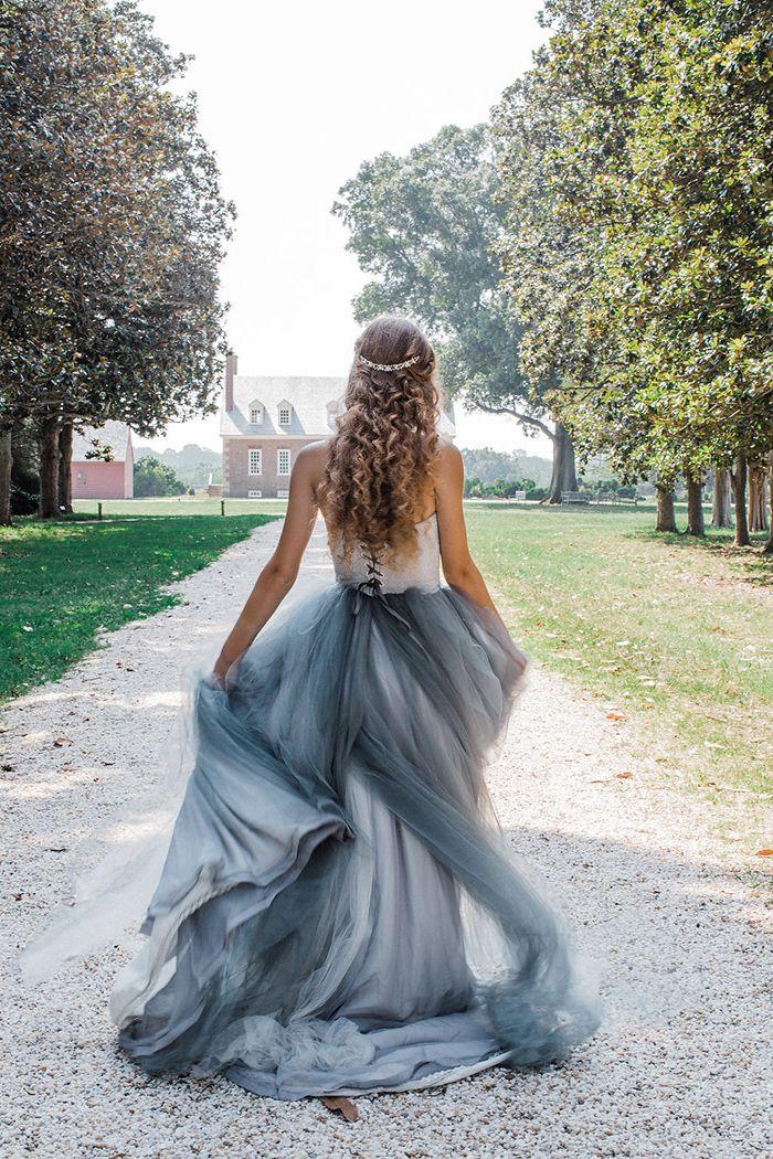 Vintage Pink And Summer Blue Heirloom Wedding Shoot Blue Wedding
