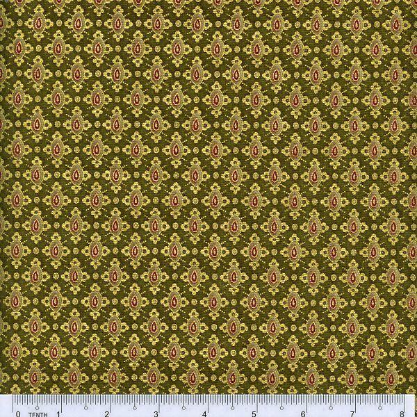 Pashmina by Chong-a Hwang for Timeless Treasures - Lozenge -  9644 - Green