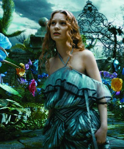 "The first look at ""Alice: Through The Looking Glass"" is finally here!"