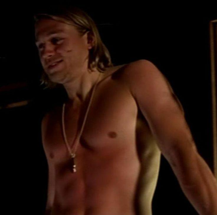 Thanks Charlie hunnam naked on a harley consider
