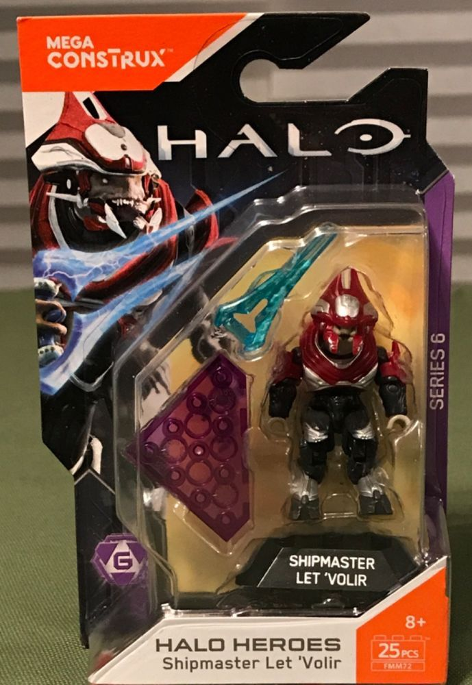 Mega Construx Halo Heroes Series 6 Shipmaster Let Volir 25 pcs from